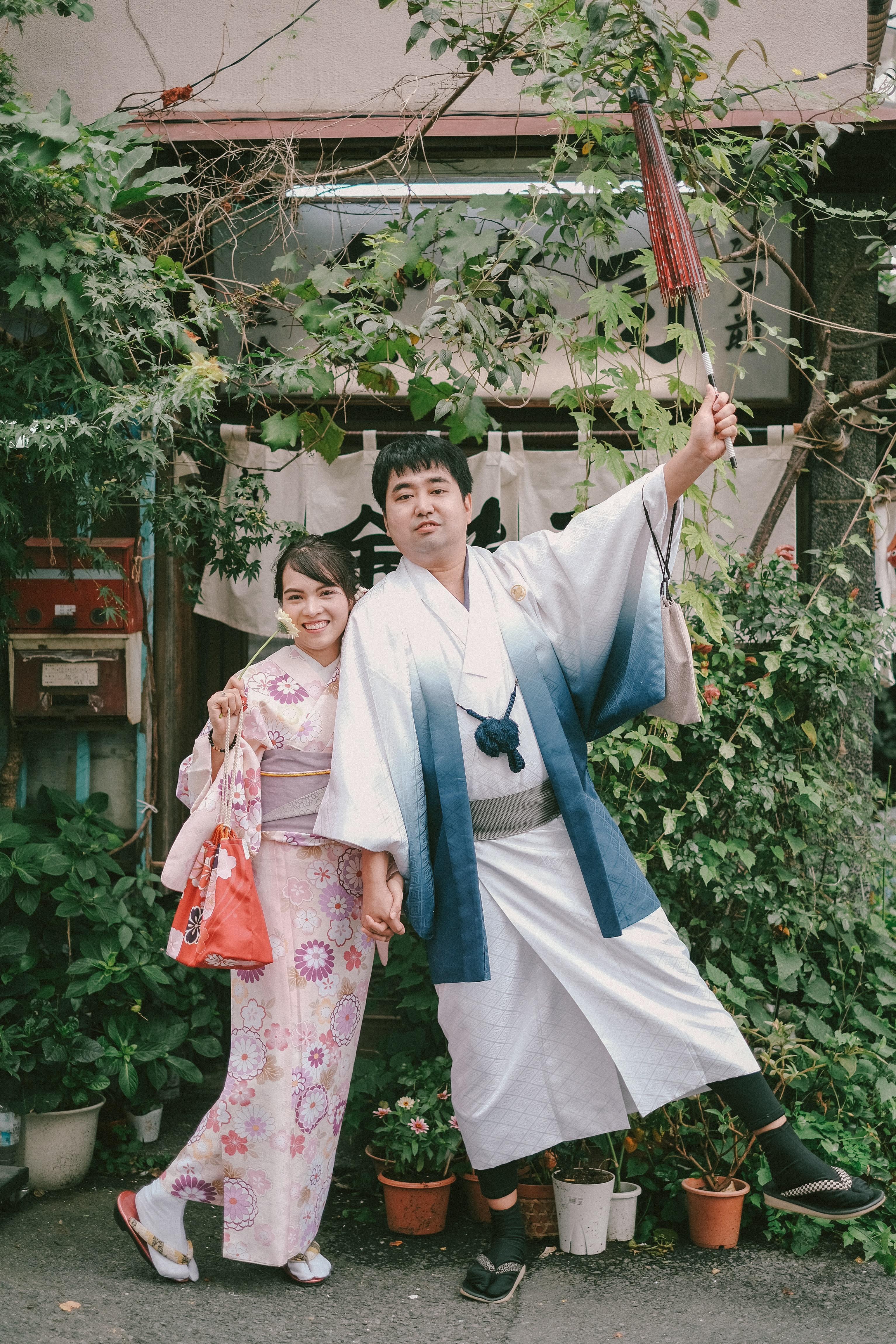 Khi quyết định sang Nhật làm việc,chị Nụ không có ý định kết hôn ở xứ sở hoa anh đào và ở lại lâu dài, nhưng khi quen môi trường sống, dần dần chị yêu thích đất nước con người nơi đây.