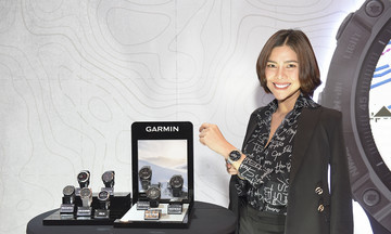 Synnex trình làng siêu phẩm Garmin đầu tiên dùng năng lượng mặt trời