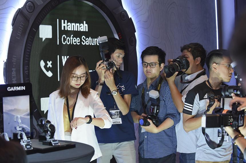 Siêu phẩm mới của Garmin đã nhận được sự quan tâm đặc biệt từ giới truyền thông và những người yêu công nghệ.