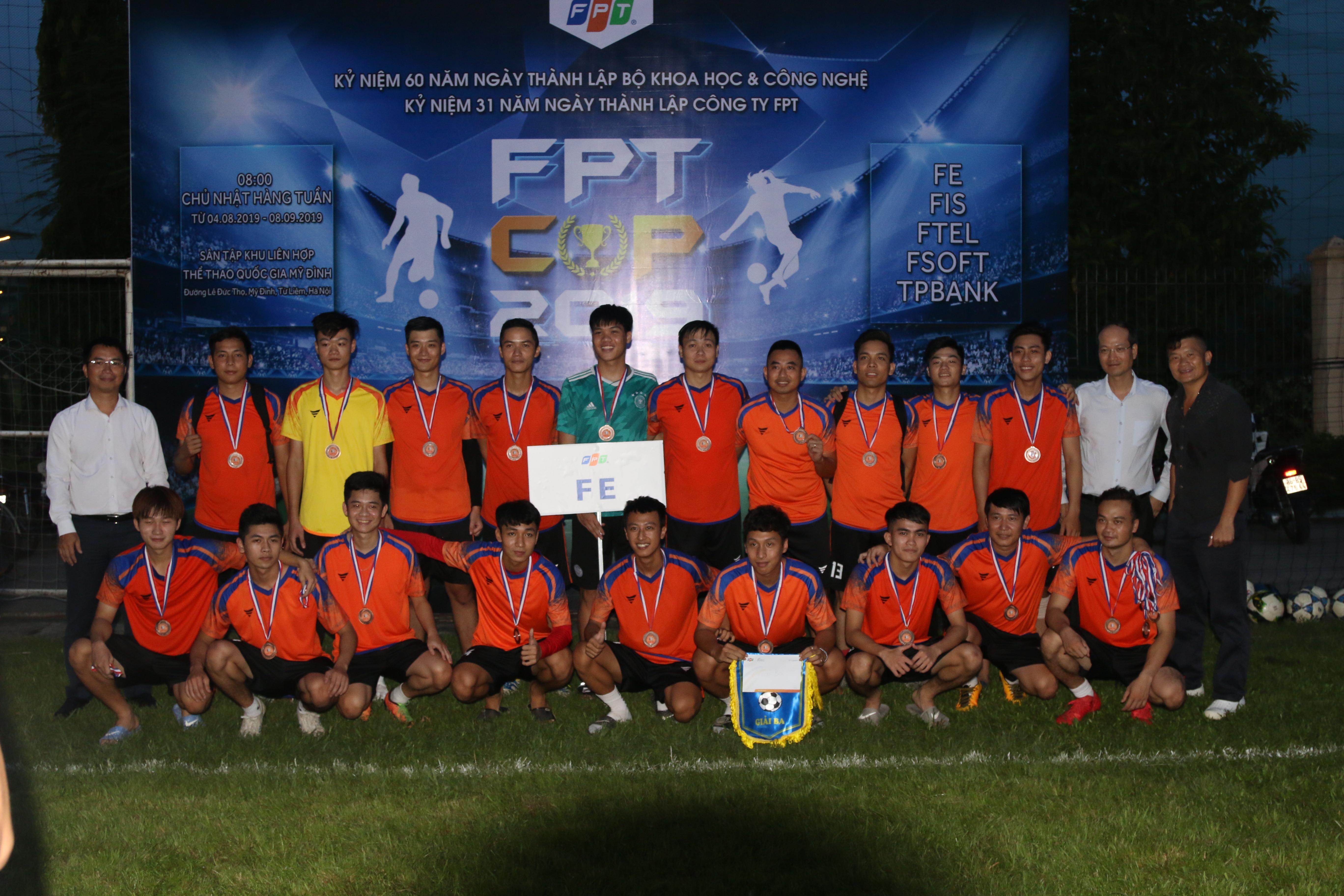 Dù FPT Education giành lợi thế với chiến thắng 2-0 ngày khai mạc nhưng phong độ các cầu thủ nhà Giáo dục không được duy trì đến hết giải đấu. Kết quả chung cuộc, FPT Education đạt giải Ba với 3 triệu đồng tiền thưởng, cùng huy chương và cờ lưu niệm.