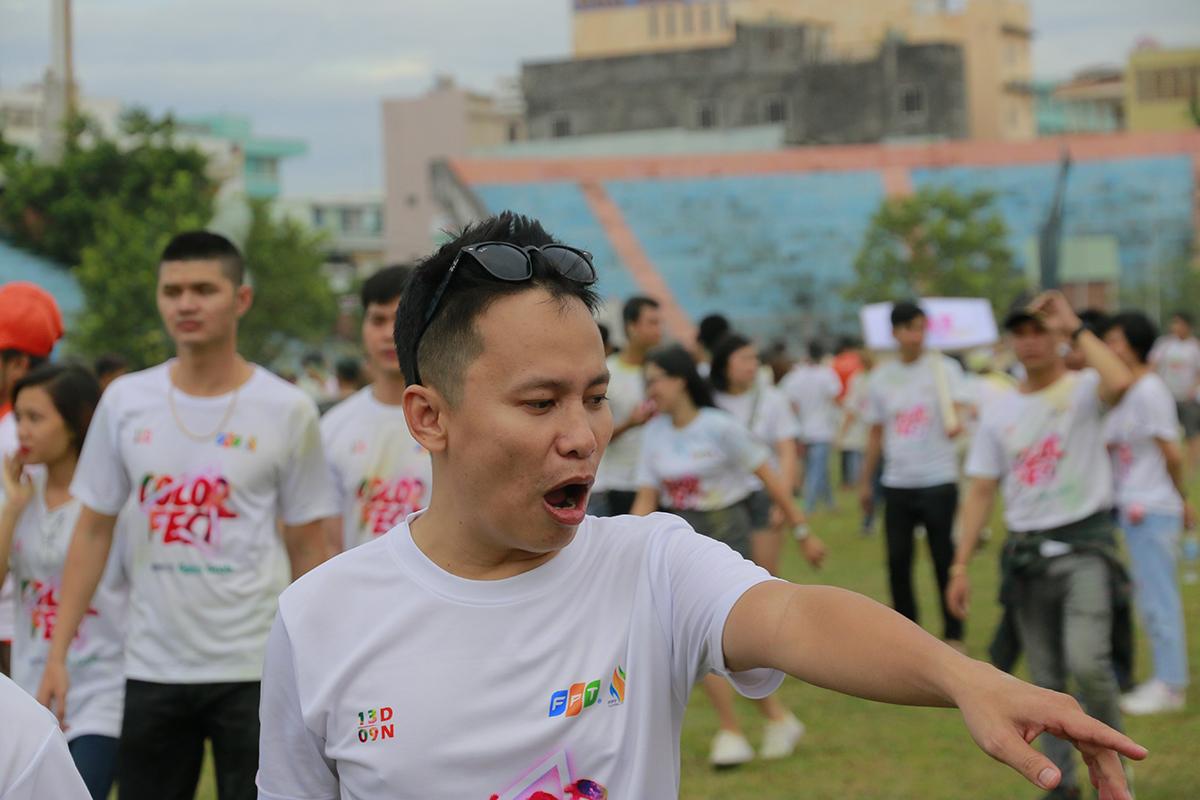Thông qua các nội dung tranh tài, bầu không khí trên sân vận động Chi Lăng luôn sôi động và kịch tính.