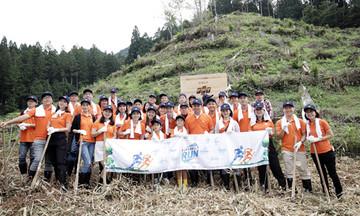 FPT Japan trồng 200 cây anh đào tại Nhật Bản