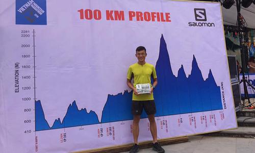 Người FPT đầu tiên chinh phục thành công 100km leo núi