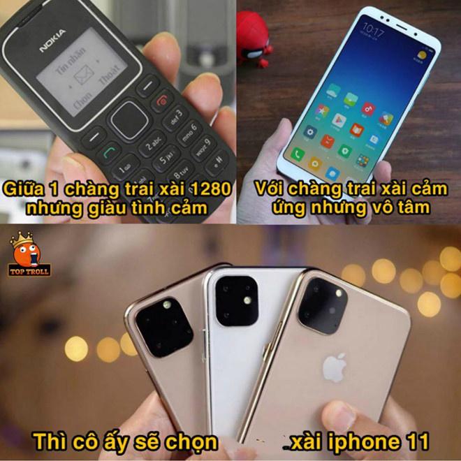 """Ngày 11/9, Apple trình làng 3 mẫu điện thoại mới là iPhone 11, iPhone 11 Pro và iPhone 11 Pro Max. Ngay lập tức, """"iPhone 11"""" trở thành từ khóa """"hot"""" khắp các diễn đàn"""