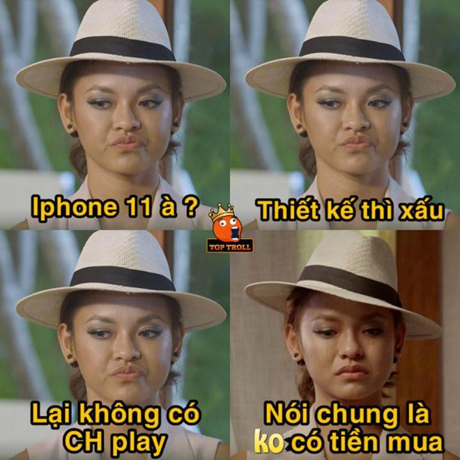 """Không có tiền mua iPhone 11, người """"yêu Táo"""" đành ngậm ngùi tìm lý do để khỏi buồn."""