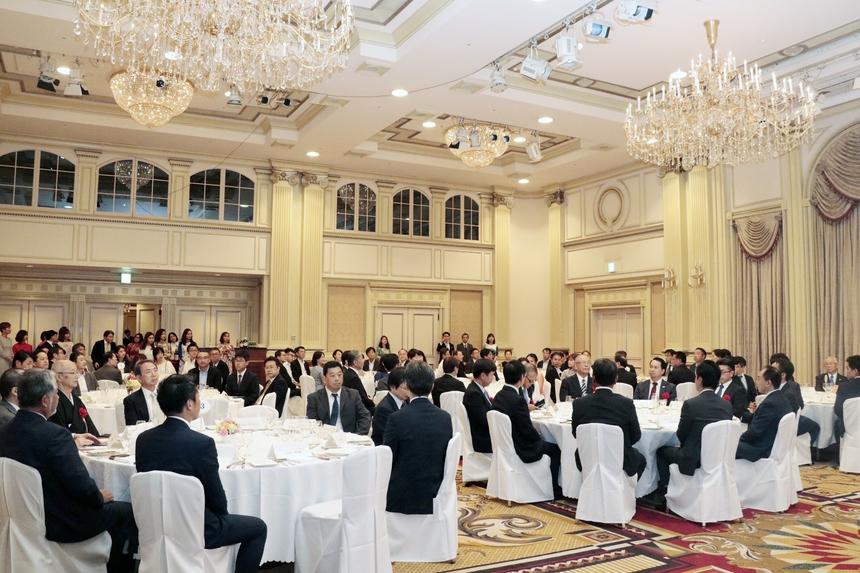 Đây là sự kiện FPT Japan ra mắt Trường Nhật ngữ FPT với chính quyền Nhật Bản và đối tác cũng như cam kết đào tạo nguồn lực chất lượng cao, giỏi tiếng Nhật.