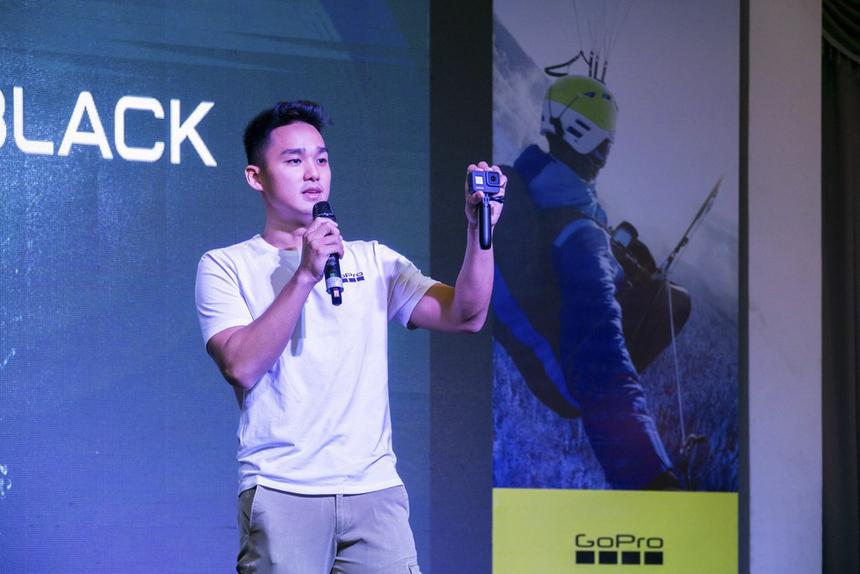 Đại diện GoPro chia sẻ về việc chọn Việt Nam làm buổi ra mắt, bởi Việt Nam là thị trường tiêu thụ các dòng sản phẩm của GoPro nhiều nhất trong khu vực Đông Nam Á.