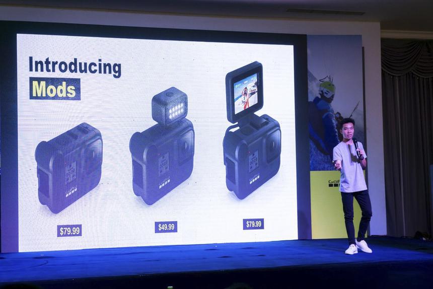 Media Mod, Display Mod và Light Mod là các phụ kiện hỗ trợ tối ưu cho chất lượng ghi hình của HERO 8 Black. Nếu bạn là một người đề cao đến chất lượng tối ưu thì Mod sẽ là phụ kiện bổ sung không thể thiếu, cho phép bạn khai thác tốt sức mạnh có trong HERO8 Black.