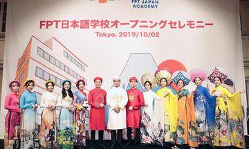 FPT Japan quảng bá áo dài Việt Nam tới đối tác Nhật Bản