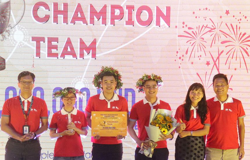 Vượt trội ở hai phần thi, đội X-TEAM đến từ Hà Nội đã chính thức trở thành nhà vô địch cuộc thi PM Contest 2019.