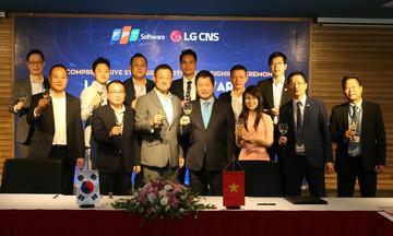 FPT hợp tác với Tập đoàn LG phát triển công nghệ