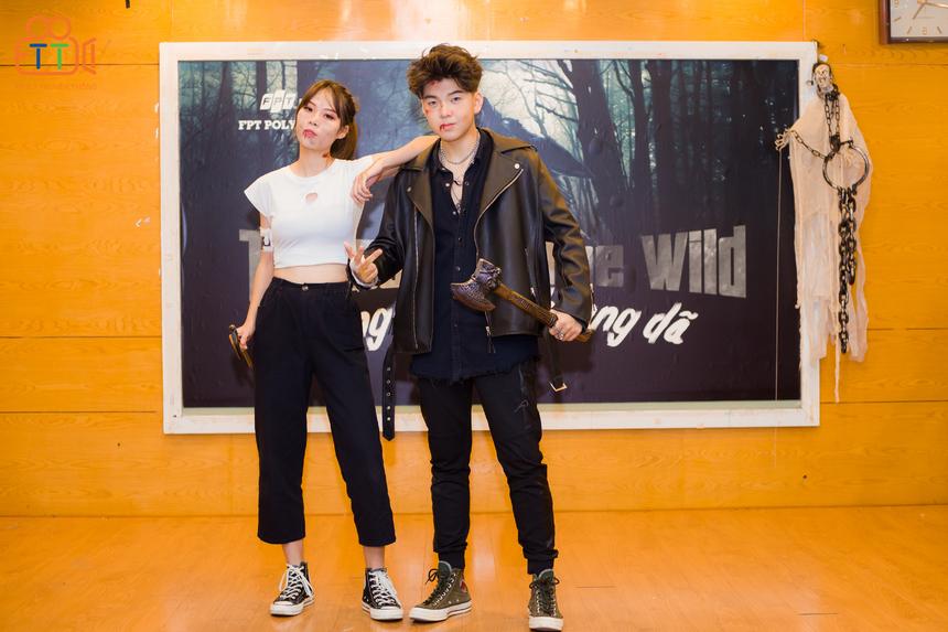"""Với phong thái """"chất hơn nước cất"""" của sinh viên FPT Polytechnic, nhiều người còn lầm tưởng đây là sân khấu của... Vietnam's Next Top Model."""