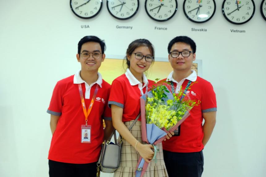 Gần đây, Phương Chi thử sức với cuộc thi quản trị dự án -PM Contest 2019 và giành giải nhất hạng mục Presentation, trở thành 1 trong 6 đội đi vào vòng chung kết tại Đà Nẵng.