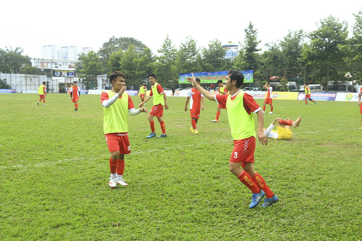 Chiến thắng được ấn định cho FPT Telecom ở phút 75 khi số 9 Trần Văn Anh Vũ ghi bàn thắng thứ ba nâng tỷ số lên 3-1. Sau đó dù cả hai đội có liên tiếp các sự thay đổi người nhưng không có bàn thắng nào được ghi thêm.