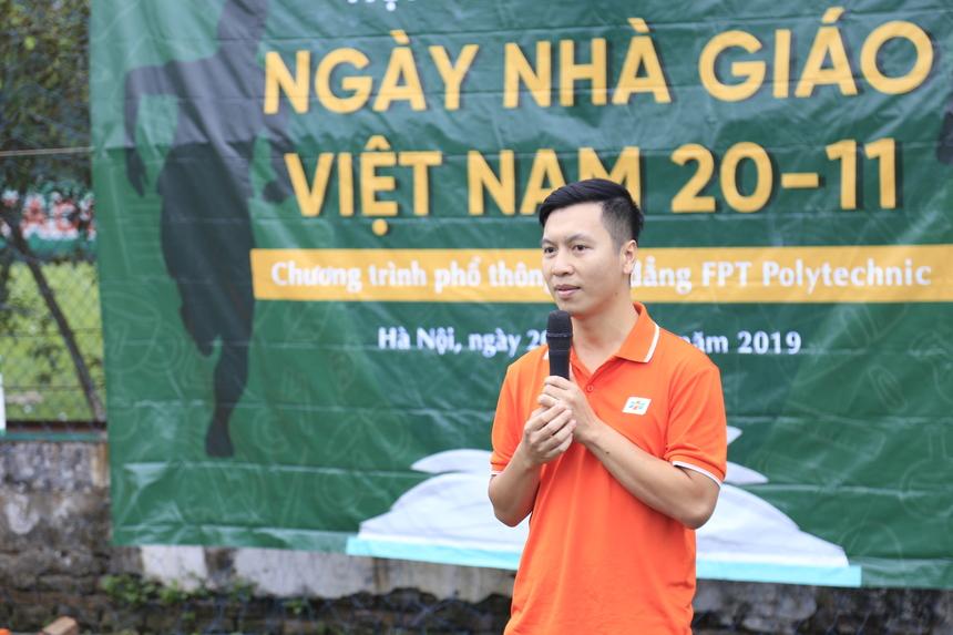 Anh Bùi Quang Hùng cho biết, văn hoá FPT là sự khác biệt nên buổi hội thao hứa hẹn sẽ mang đến những tiết mục đặc sắc, thú vị, những trận đấu kịch tính và màn thể hiện sôi nổi đến từ các tập thể lớp cùng dàn khách mời đặc biệt.