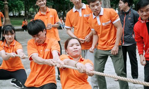 Sôi động hội thao FPT Polytechnic Tây Nguyên