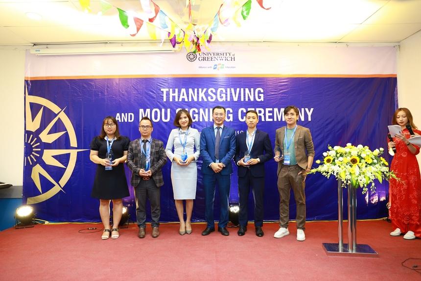 ĐH Greenwich (Việt Nam) đã tổ chức tri ân các doanh nghiệp trong suốt thời gian qua đã đồng hành với nhà trường.
