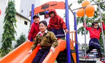 'Sân chơi FoxSteps giúp trẻ em tránh xa tệ nạn xã hội'