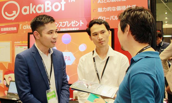 akaBot từng được giới thiệu tại thị trường Nhật Bản. Ảnh: ĐVCC