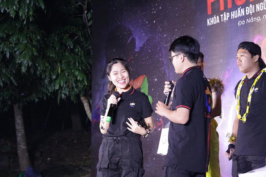 Chị Nguyễn Thị Thùy Linh (Linh Cáo - FPT Telecom Huế), đảm nhận vai thủ lĩnh phong trào tại chi nhánh. Nữ nhân viên cố gắng tập hợp lực lượng, xây dựng kế hoạch và thể hiện niềm đam mê với công việc. Mọi sự nỗ lực của cô đã được đền đáp bằng sự ủng hộ của lãnh đạo.