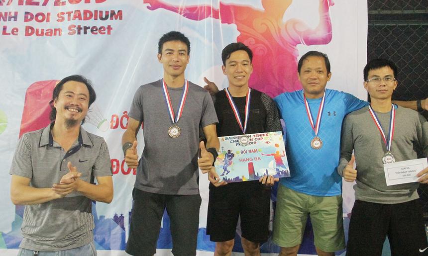 Nội dung tennis là cuộc canh tranh giữa các tay vợt FPT Software và Synnex FPT. Đồng giải Ba được trao cho Minh Đức - Vân Hân, Synnex FPT; Duy Khánh - Minh Tuấn, FPT Software. Họ đã không thể vượt qua bán kết.