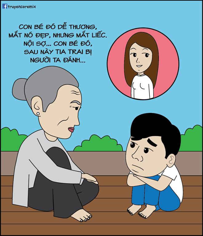 Bà nội đưa ra nhiều sự tư vấn để con cháu lựa chọn...