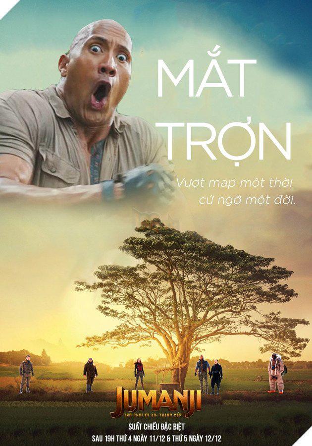 Thậm chí nam diễn viên nổi tiếng Dwayne Johnson - người được mệnh danh là The Rock, cũng không thoát khỏi sức nóng của Mắt biếc.
