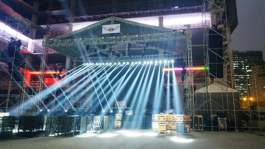 FPT Rockfest 2019 sở hữu hệ thống ánh sáng, âm thanh đẳng cấp với chất lượng tương đương Lễ hội âm nhạc Gió mùa (Monsoon).