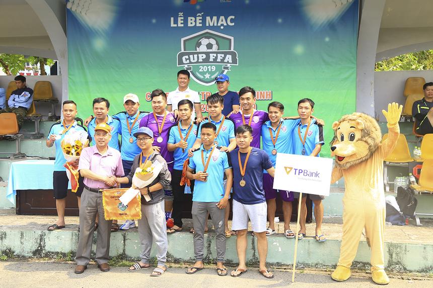 TP Bank đã giành hạng Ba chung cuộc. Dù có khởi đầu chật vật trong 2 trận đấu đầu tiên của giải nhưng với chiến thắng 6-0 ở trận tái đấu FPT Securities đã giúp đội bóng Ngân hàng giành huy chương đồng.