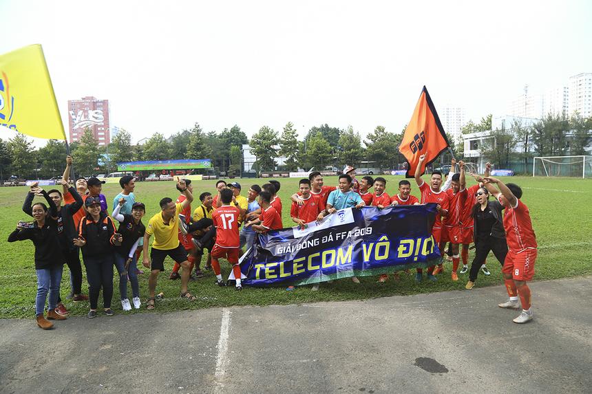 Trong trận chung kết, FPT Telecom đã giành chiến thắng nghẹt thở 1-0 vào những phút cuối trận, qua đó có lần thứ 11 lên ngôi Vô địch và là lần thứ 3 liên tiếp sau các năm 2017, 2018.