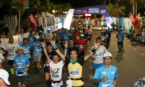 Nhóm 200 người dự giải chạy VnExpress Marathon Quy Nhơn 2020