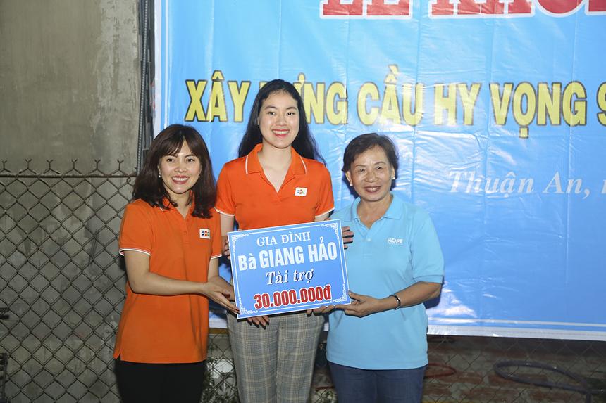 Ngoài ra, trong dịp này, Quỹ Hy vọng cũng vận động các nhà hảo tâm ủng hộ khởi công xây dựng cầu Hy vọng 91 và 92 ở quận Thốt Nốt (TP Cần Thơ) bắt qua Rạch Chanh.
