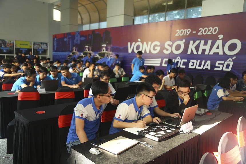 Sáng ngày 5/1, buổi thi sơ loại thứ 3 đã diễn ra với sự tham gia của 14 đội thi đến từ ĐH Sư phạm Kỹ thuật TP HCM. Cuộc đua số do Tập đoàn FPT và Đài truyền hình Việt Nam phối hợp tổ chức, dành cho các sinh viên yêu thích công nghệ trên toàn quốc. Năm nay, cuộc thi có sự đồng hành của FUNiX với vai trò nhà tài trợ Vàng và Elsa với vai trò nhà tài trợ Bạc.