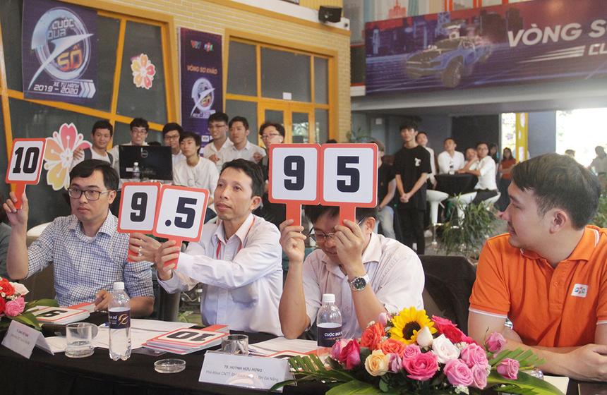 Chung cuộc, đội 503 được hai điểm 9 và 9.5; đội 504 giành được hai điểm 9.5 và 10. Giải Nhất vòng loại Cuộc đua số khu vực Đà Nẵng đã thuộc về đội 504.