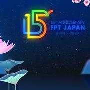 FPT Japan công bố logo 15 năm