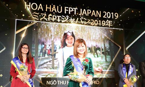 Ngô Thu Huyền là Hoa hậu FPT Japan 2019