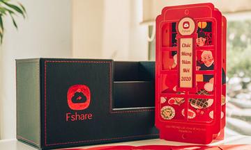 Trao quà Tết 1,6 triệu đồng, Fshare tri ân khách hàng hội viên