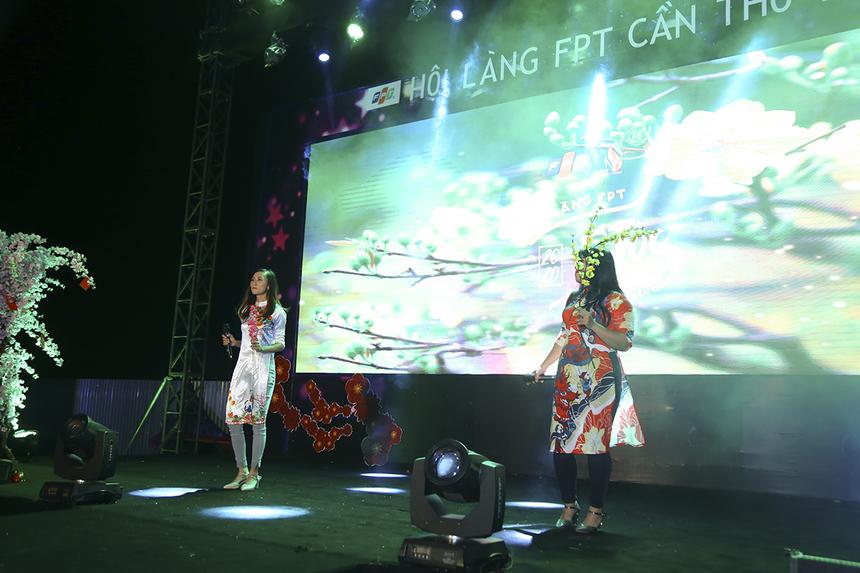 """FPT Telecom mang đến Hội làng nhạc phẩm """"Thì thầm mùa xuân"""" của song ca Trần Thụy Yến Nhi và Nguyễn Thị Tường Vy."""