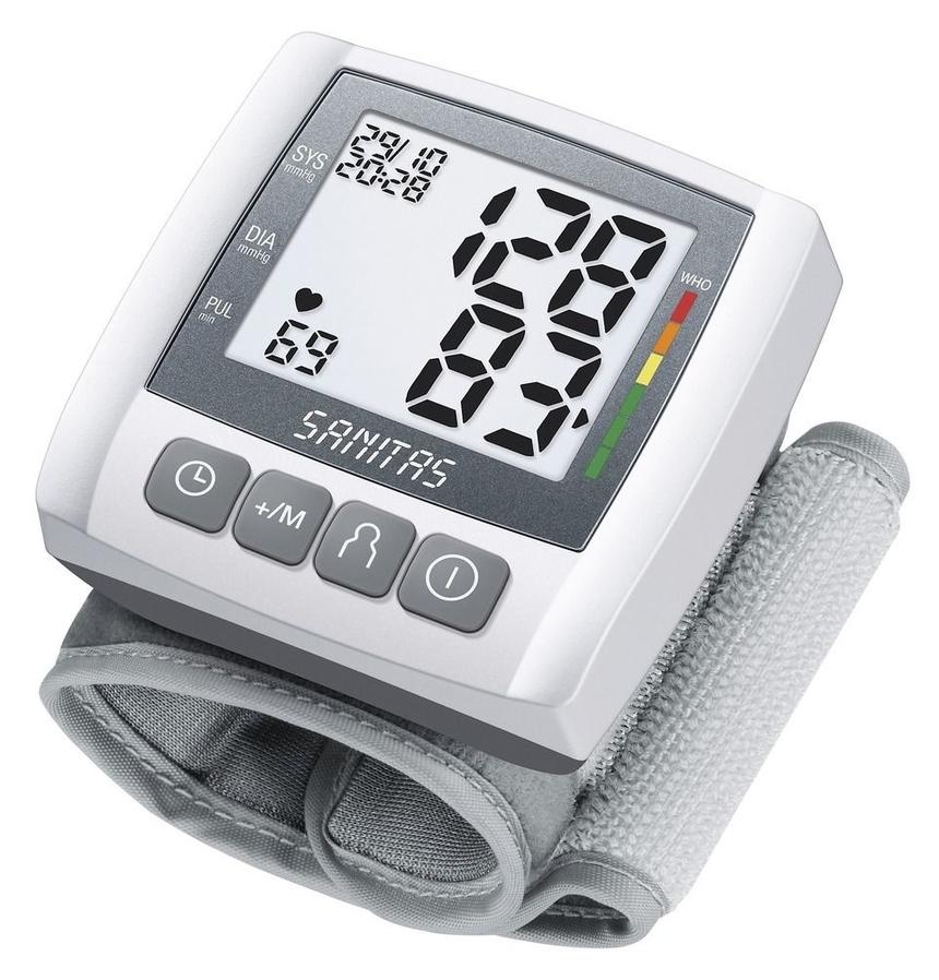 Máy đo huyết áp cổ tay Beurer BC40 cần thiết với những gia đình có người già, người mắc các bệnh liên quan đến huyết áp. Bạn có thể đo được huyết áp của mình và người thân dễ dàng, có thể lưu các kết quả đo để xem lại. Máy còn có chức năng phát hiện bệnh rối loạn nhịp tim khi có triệu chứng nhịp tim bất thường. Sản phẩm đang giảm 10% trên Shop VnExpress, còn 810.000 đồng (giá gốc 900.000 đồng).