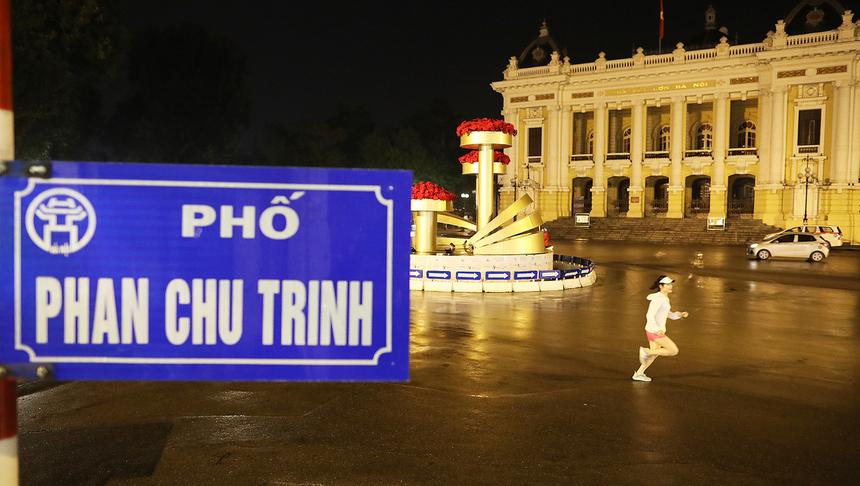 Với cung đường qua nhiều tuyến phố đẹp như Phan Đình Phùng, Thanh Niên..., Hải Yến hy vọng các runner sẽ có nhiều trải nghiệm thú vị khi tham gia VnExpress Marathon Hanoi Midnight.