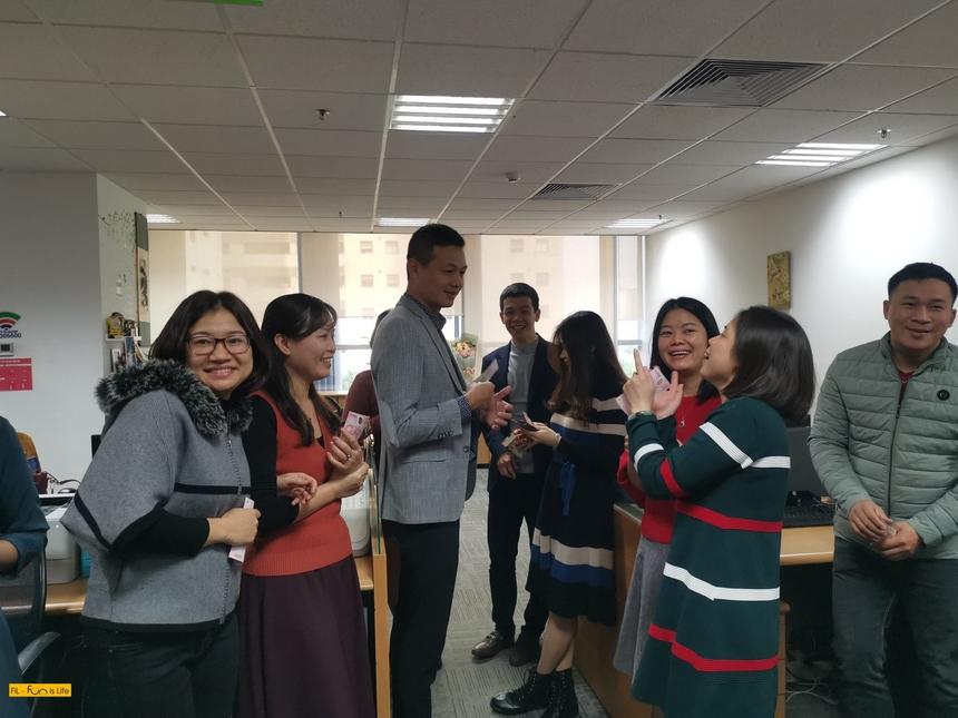 PTGĐ FPT Telecom Vũ Anh Tú cũng có mặt tại Hà Nội để khai xuân cùng CBNV nhà 'Cáo.