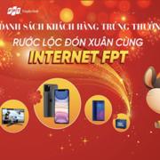 FPT Telecom trao thưởng Rước lộc đón xuân