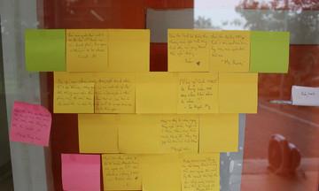 Loạt lời nhắn đáng yêu sinh viên FPT gửi người đến cách ly