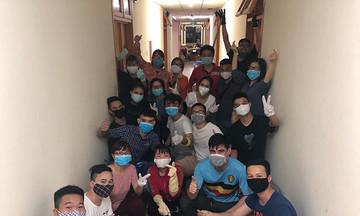 Các đơn vị FPT chung sức tiếp ứng ký túc xá Hòa Lạc