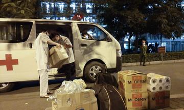 Đội ngũ y tế hoàn tất khâu cuối tại Hòa Lạc Campus