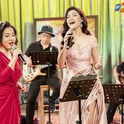 Mỹ Linh nồng nàn bên Á hậu Kiều Loan trong Music Home