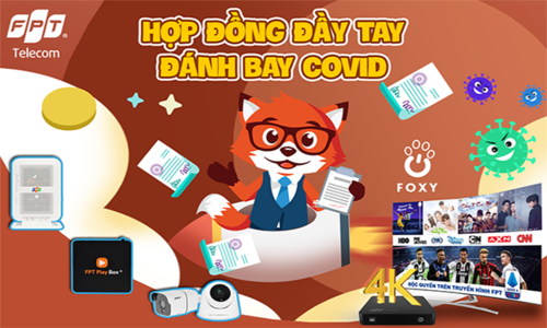 Vùng 1 FPT Telecom tung giải lớn 'Đánh bay Covid'
