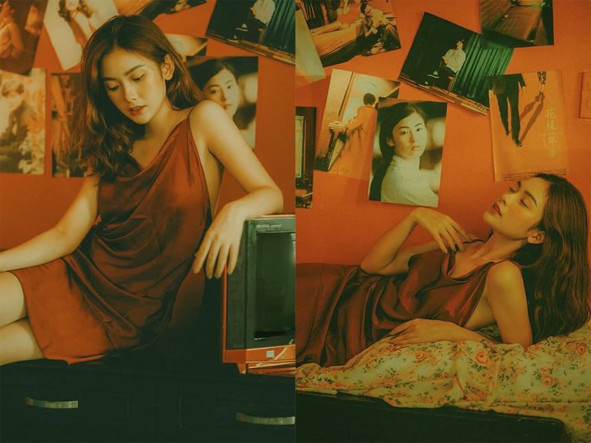 Không chỉ có năng khiếu nghệ thuật, cô nàng còn sở hữu gương mặt khả ái được nhiều người ví như Minh Hằng phiên bản 10x.