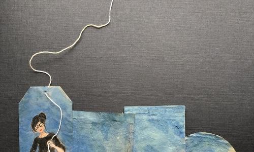 Biến 14 ngày cách ly thành kỳ sáng tác từ vật liệu tái chế