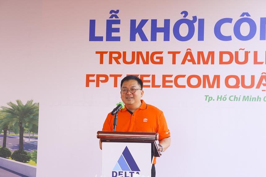 Chủ tịch FPT Telecom - anh Hoàng Nam Tiến